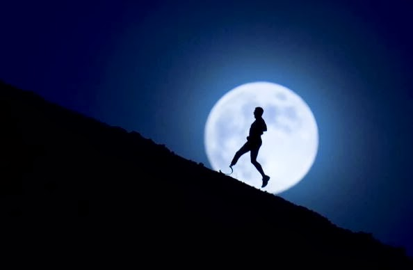 I like more to run at night. (photo not mine)